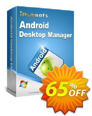 iPubsoft Android Desktop Manager discount coupon 65% disocunt -