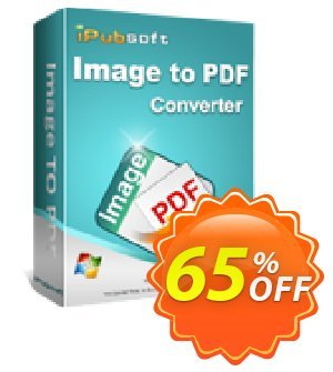 iPubsoft Image to PDF Converter Coupon, discount 65% disocunt. Promotion: