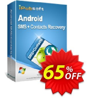 Get iPubsoft Android SMS+Contacts Recovery 65% OFF coupon code