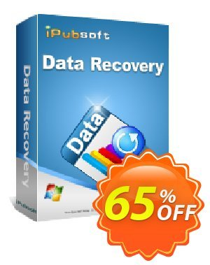 iPubsoft Data Recovery discount coupon 65% disocunt -