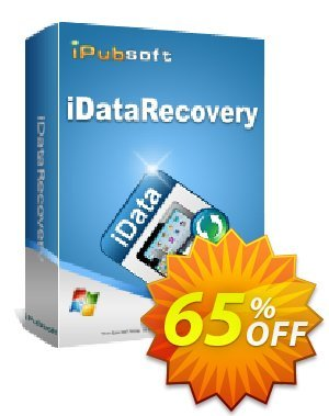 iPubsoft iDataRecovery Coupon discount 65% disocunt. Promotion: