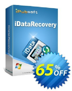 iPubsoft iDataRecovery discount coupon 65% disocunt -