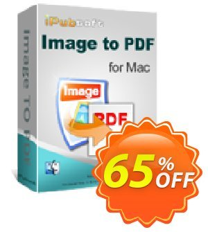iPubsoft Image to PDF Converter for Mac Coupon discount 65% disocunt. Promotion: