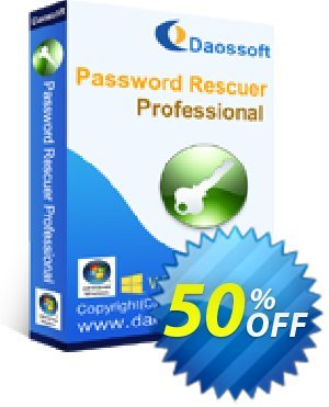 Daossoft Password Rescuer Professional 優惠券,折扣碼 40% daossoft (36100),促銷代碼: 40% daossoft (36100)
