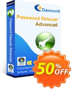 Daossoft Password Rescuer Advanced Coupon discount 40% daossoft (36100). Promotion: 40% daossoft (36100)