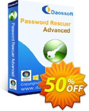 Daossoft Password Rescuer Advanced discount coupon 40% daossoft (36100) - 40% daossoft (36100)