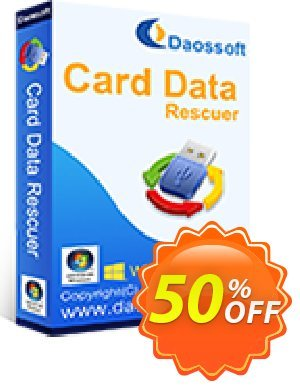 Daossoft Card Data Rescuer discount coupon 30% daossoft (36100) - 30% daossoft (36100)