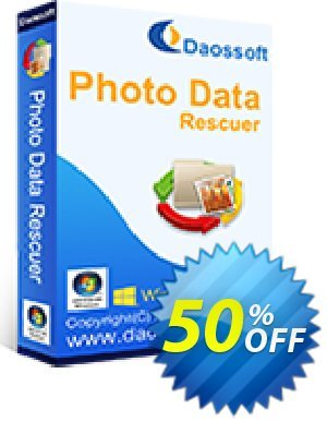 Daossoft Photo Data Rescuer Coupon discount 40% daossoft (36100) - 40% daossoft (36100)