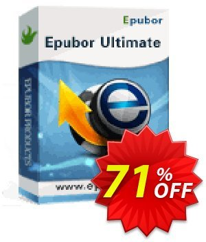 Epubor Ultimate产品折扣 Epubor Ultimate for Win wonderful deals code 2020
