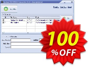 PDF2EPUB Converter Coupon, discount Epubor Ebook Software coupon (36498). Promotion: Epubor Ebook Software discount code