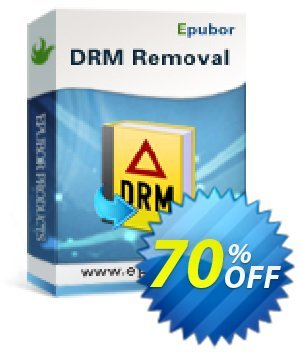 Epubor All DRM Removal Coupon, discount Any DRM Removal for Win amazing offer code 2021. Promotion: wonderful deals code of Any DRM Removal for Win 2021