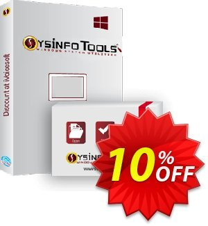 SysInfoTools DBX Recovery 優惠券,折扣碼 SYSINFODISCOUNT,促銷代碼: Coupon code for SysInfo tools software