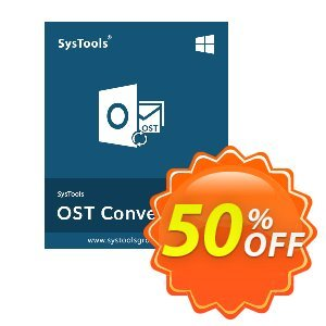 SysTools OST Converter (Corporate License) discount coupon 25% OFF SysTools OST Converter (Corporate License), verified - Awful sales code of SysTools OST Converter (Corporate License), tested & approved