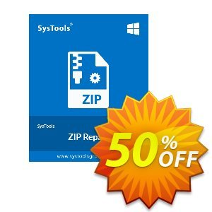 SysTools Zip Repair (Business) Coupon, discount SysTools coupon 36906. Promotion:
