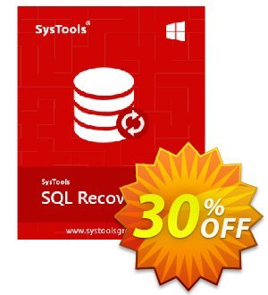 SysTools SQL Recovery - Enterprise License Coupon discount SysTools coupon 36906. Promotion: