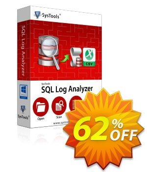SysTools SQL Log Analyzer - Personal License Coupon discount SysTools SQL Log Analyzer amazing promo code 2019. Promotion: