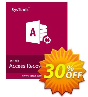 SysTools Access Recovery discount coupon SysTools Summer Sale -