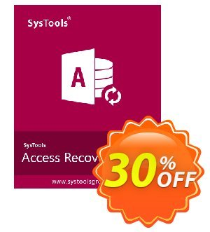 SysTools Access Recovery  (Business License) discount coupon SysTools coupon 36906 -