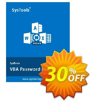 SysTools VBA Password Remover discount coupon SysTools Summer Sale -