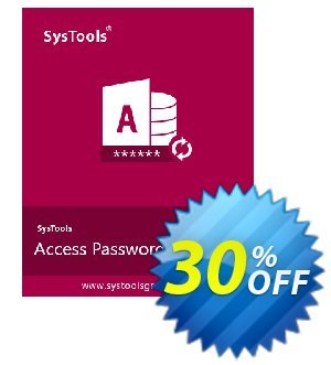SysTools Access Password Recovery (Business) discount coupon SysTools coupon 36906 -