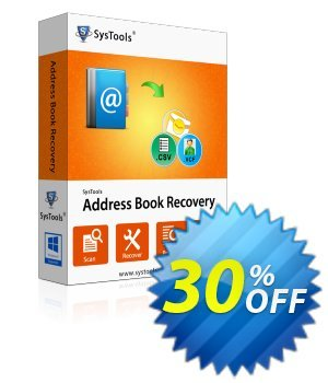 SysTools Address Book Recovery discount coupon SysTools Summer Sale -