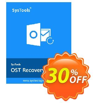 SysTools OST Recovery (Corporate License) 프로모션 코드 SysTools coupon 36906 프로모션: