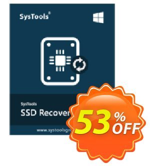 SysTools SSD Data Recovery Coupon discount SysTools Summer Sale. Promotion: marvelous promo code of SysTools SSD Data Recovery 2020