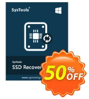 SysTools SSD Data Recovery Business License Coupon discount 50% OFF SysTools SSD Data Recovery Business License, verified