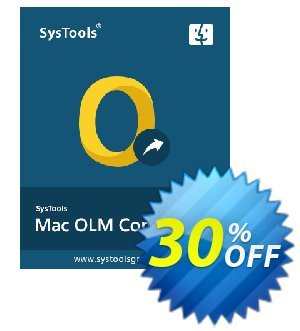 SysTools Mac OLM Converter Coupon, discount SysTools Spring Sale. Promotion: amazing deals code of SysTools Mac OLM Converter 2020