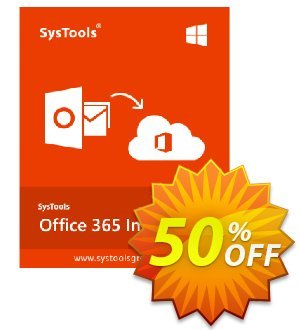 SysTools Office 365 Import discount coupon 50% OFF SysTools Office 365 Import, verified - Awful sales code of SysTools Office 365 Import, tested & approved