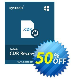 SysTools CDR Recovery Coupon discount SysTools Summer Sale. Promotion: amazing discount code of SysTools CDR Recovery 2020