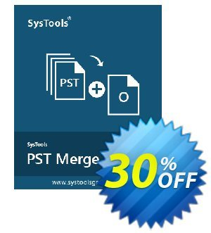 SysTools PST Merge (Business License) 프로모션 코드 SysTools coupon 36906 프로모션: