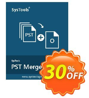 SysTools PST Merge (Business License) Coupon, discount SysTools coupon 36906. Promotion: