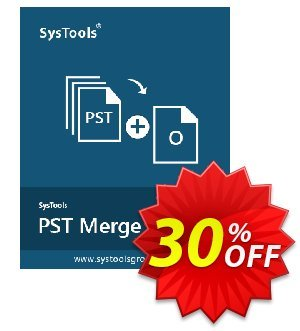 SysTools PST Merge (Enterprise License) Coupon, discount SysTools coupon 36906. Promotion: