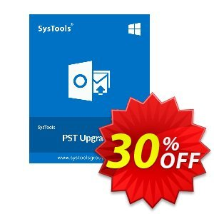 PST Upgrade - Personal License Coupon, discount SysTools coupon 36906. Promotion: