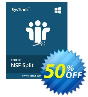 SysTools NSF Split 優惠券,折扣碼 SysTools Summer Sale,促銷代碼: special sales code of SysTools NSF Split 2021