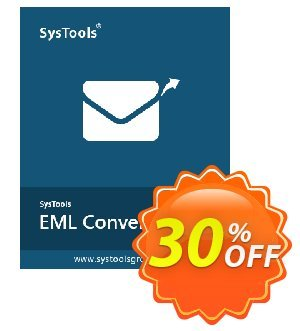 SysTools MAC EML Converter Coupon, discount SysTools Spring Sale. Promotion: excellent offer code of SysTools MAC EML Converter 2020