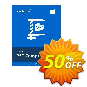 PST Compress - Enterprise License Coupon, discount SysTools coupon 36906. Promotion: