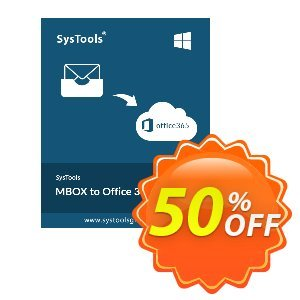 SysTools MBOX to Office 365 Migrator Coupon discount SysTools Summer Sale - imposing sales code of SysTools MBOX to Office 365 Migrator 2019