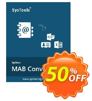 SysTools Thunderbird Address Book Converter Coupon discount SysTools Summer Sale - hottest promotions code of SysTools Thunderbird Address Book Converter 2019