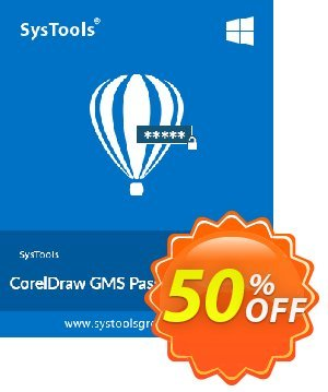 SysTools CorelDraw GMS Password Remover 優惠券,折扣碼 SysTools Summer Sale,促銷代碼: exclusive sales code of SysTools CorelDraw GMS Password Remover 2020