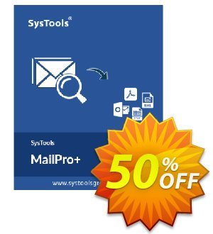 SysTools MailPro Plus discount coupon Affiliate Promotion - amazing discount code of SysTools MailPro+ 2020