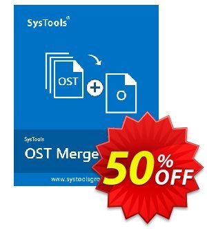 SysTools OST Merge 優惠券,折扣碼 SysTools Summer Sale,促銷代碼: impressive promotions code of SysTools OST Merge 2019