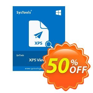 SysTools XPS Viewer Pro 프로모션 코드 SysTools Summer Sale 프로모션: super promo code of SysTools XPS Viewer Pro 2020