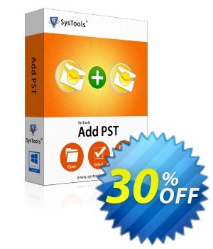 SysTools AddPST (Business License) discount coupon SysTools coupon 36906 -