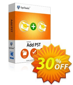 SysTools AddPST (Business License) 프로모션 코드 SysTools coupon 36906 프로모션: