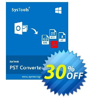 SysTools PST Converter (Enterprise License)  세일