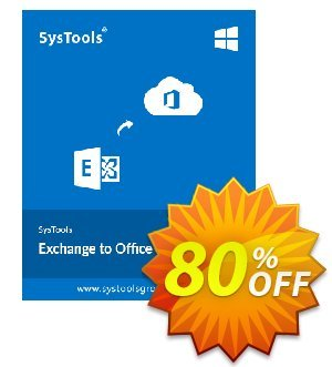 SysTools Exchange to Office365 Migrator (Site License) 優惠券,折扣碼 SysTools Summer Sale,促銷代碼: wonderful deals code of SysTools Exchange to Office365 Migrator - Site License 2019