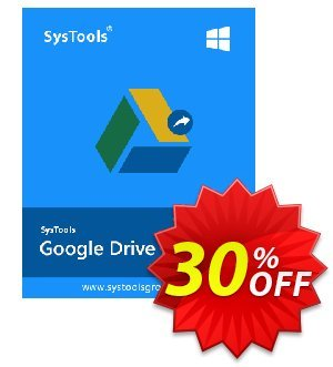 SysTools Google Drive Migrator Tool Coupon, discount Weekend Offer. Promotion: dreaded discount code of SysTools Migrator (Google Drive) 2020