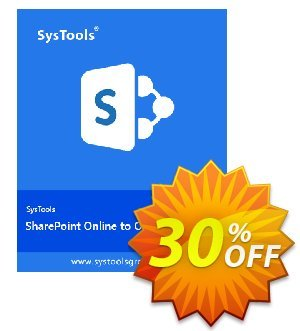 SysTools SharePoint Migrator 優惠券,折扣碼 SysTools Summer Sale,促銷代碼: fearsome discounts code of SysTools SharePoint Migrator - Site License 2020